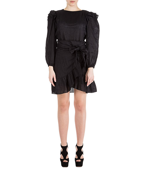 Mini dress Isabel Marant Étoile Telicia RO128801BK black