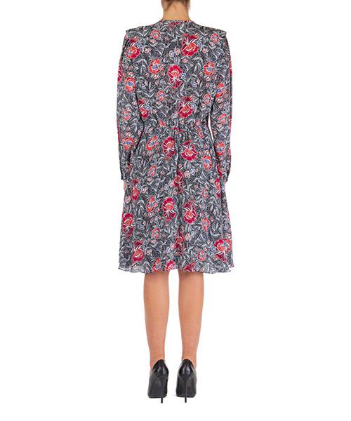 Vestito abito donna corto miniabito manica lunga yandra secondary image