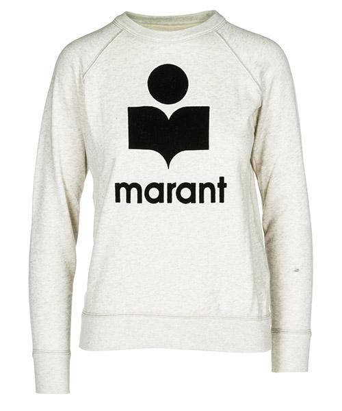 Sweatshirt Isabel Marant Étoile SW003723EC beige