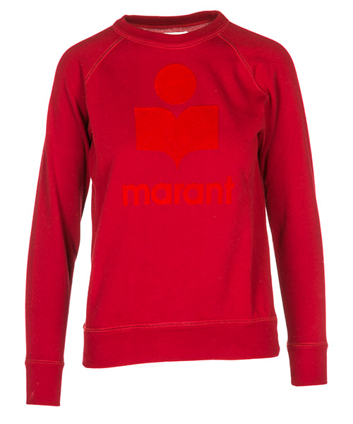 Sudadera Isabel Marant Étoile SW003770RD rosso