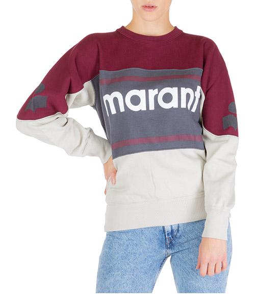 Felpa Isabel Marant Étoile gallian sw006180by grigio
