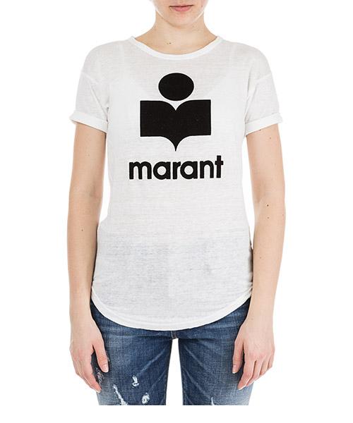 T-shirt Isabel Marant Étoile Koldi TS029900M20WH bianco