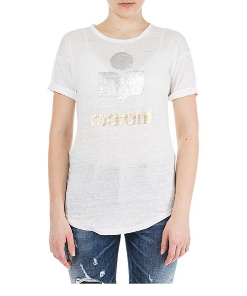 T-shirt Isabel Marant Étoile Koldi TS029908E20WH bianco
