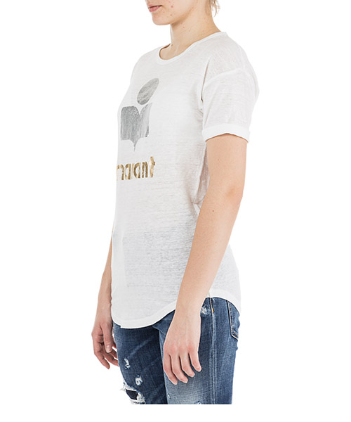 Women's t-shirt short sleeve crew neck round koldi secondary image