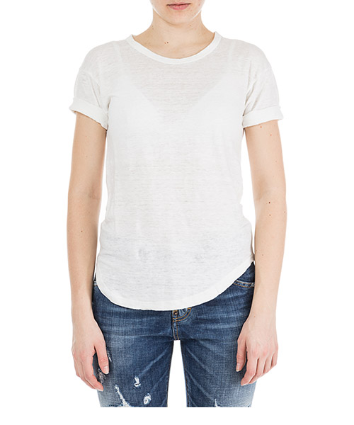 Women's t-shirt short sleeve crew neck round