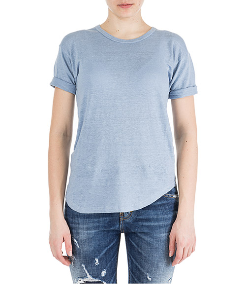 T-shirt Isabel Marant Étoile TS029930LU azzurro