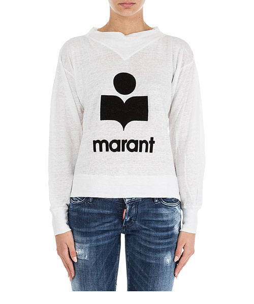 T-shirt Isabel Marant Étoile TS038120WH bianco