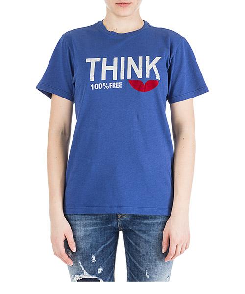 T-shirt Isabel Marant Étoile Zewel TS040630BU blu