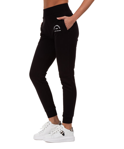 Jogginghose Karl Lagerfeld Logo 205W1053 nero