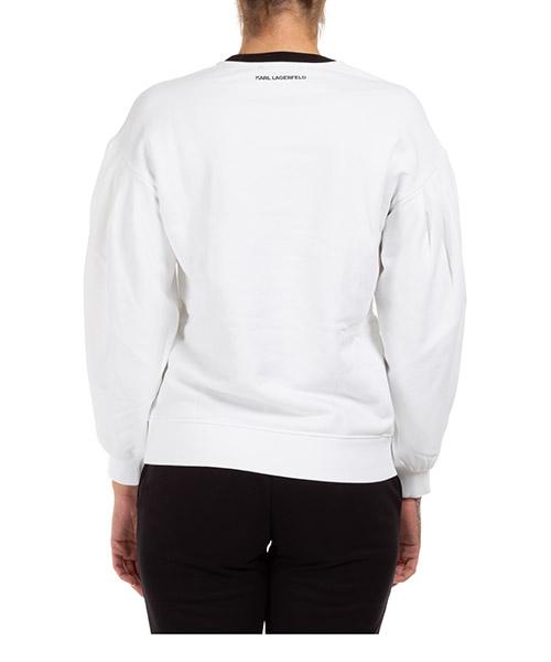 Women's sweatshirt puffy logo secondary image