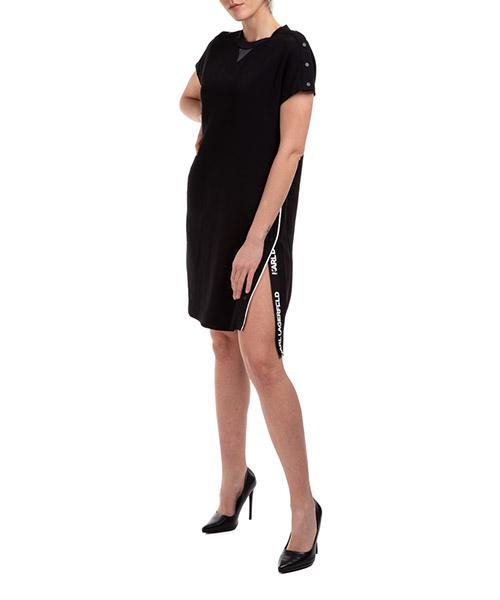 Minikleid Karl Lagerfeld 20kw201w1300 nero