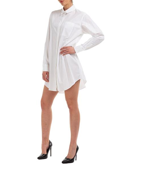 Vestito abito donna al ginocchio manica lunga