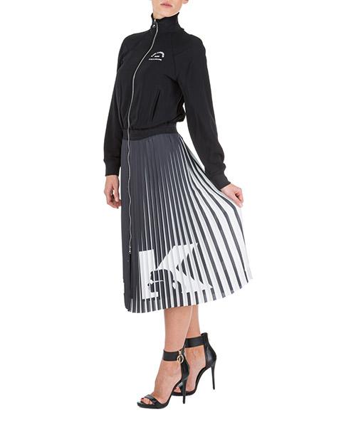 Robe longue Karl Lagerfeld Rue St Guillaume 96KW1302 nero
