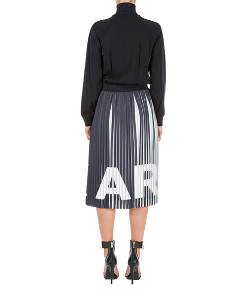 Women's calf length dress long sleeve rue st guillaume secondary image