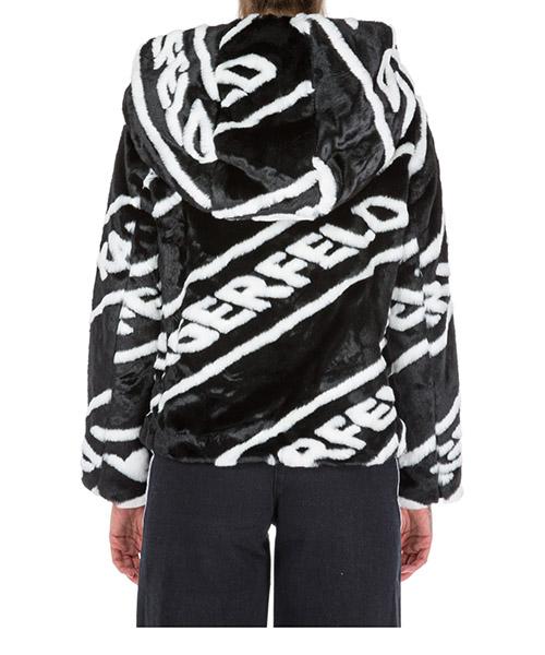 Faux fur jacket women secondary image