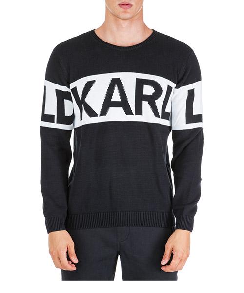 Pull Karl Lagerfeld 655046592301 nero
