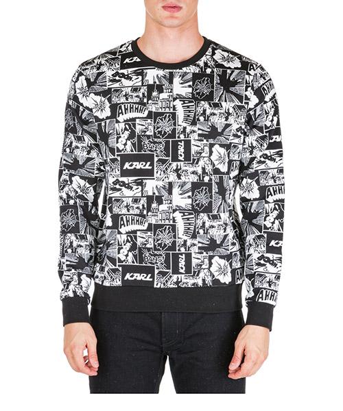 Sweatshirt Karl Lagerfeld 705020592908 nero