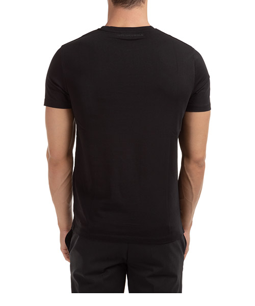 Men's short sleeve t-shirt crew neckline jumper ikonik secondary image