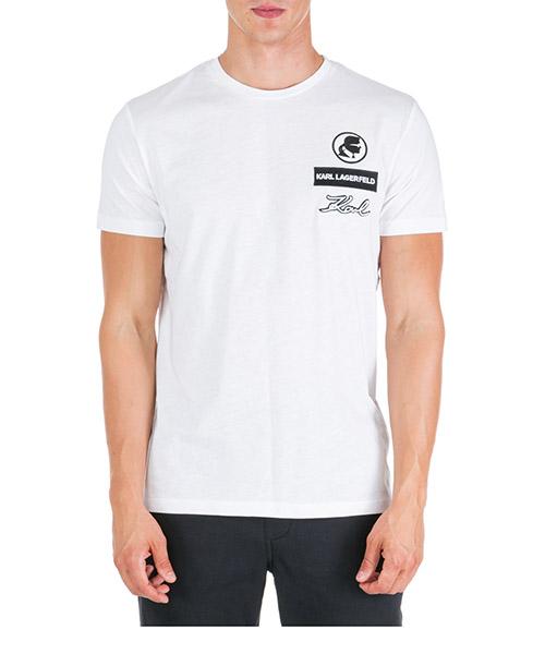 T-shirt Karl Lagerfeld 755049592223 bianco