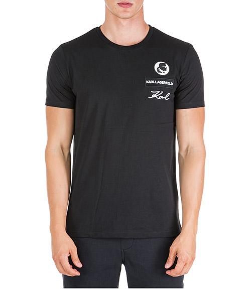 T-shirt Karl Lagerfeld 755049592223 nero
