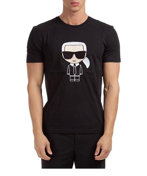 T-shirt Karl Lagerfeld ikonik 755060502250 nero