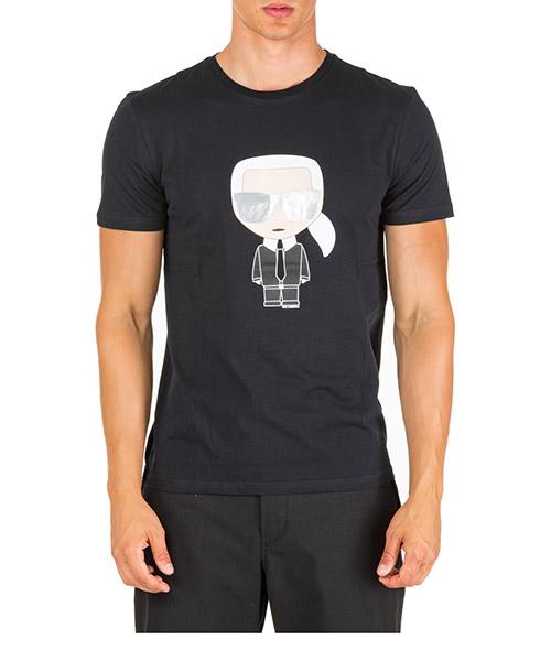 Camiseta de manga corta cuello redondo hombre k/ikonik