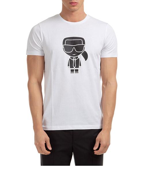 T-shirt Karl Lagerfeld k/ikonik 755080502224 bianco