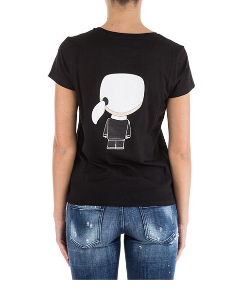 Women's t-shirt short sleeve crew neck round ikonik secondary image