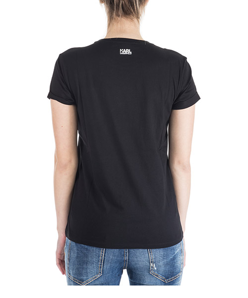 Women's t-shirt short sleeve crew neck round ikonik secondary image