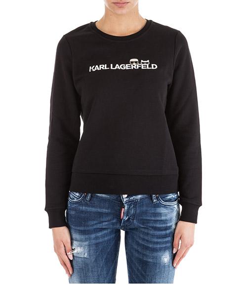 T-shirt Karl Lagerfeld K/Ikonik 91KW1737 nero
