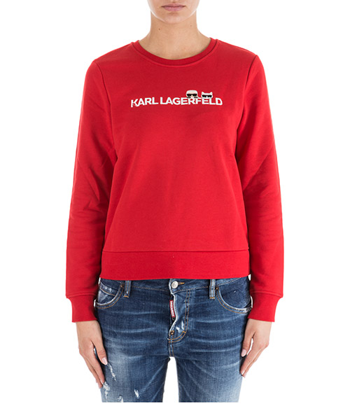 T-shirt Karl Lagerfeld K/Ikonik 91KW1737 barbados cherry