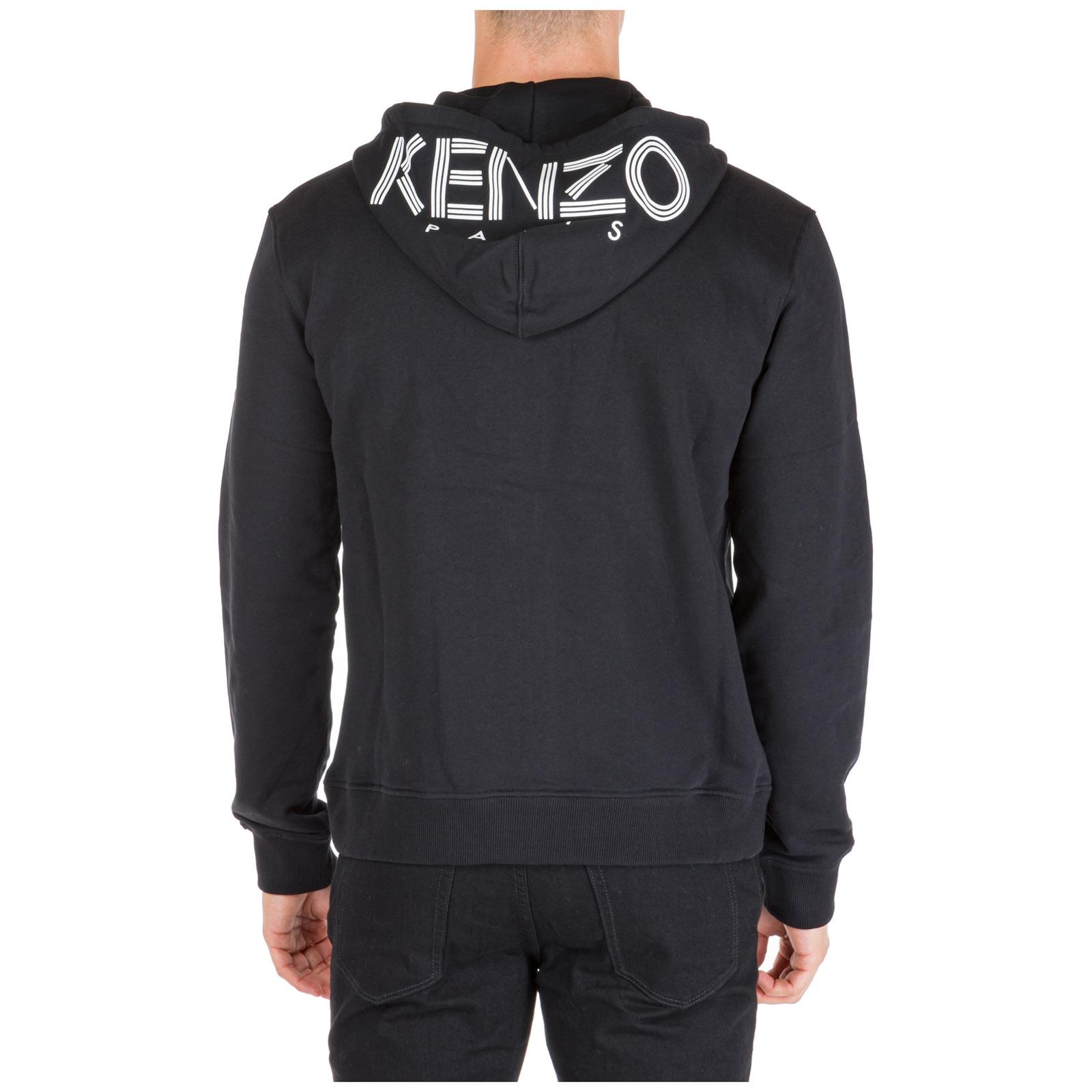sweat à capuche kenzo logo