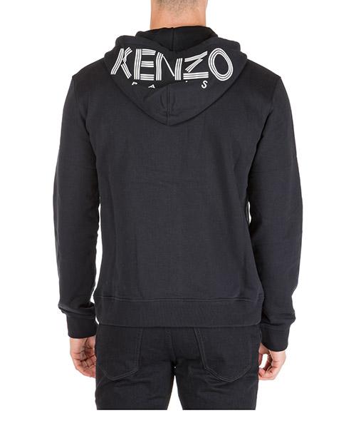 Sweat à capuche Kenzo logo f005bl7224md99 nero