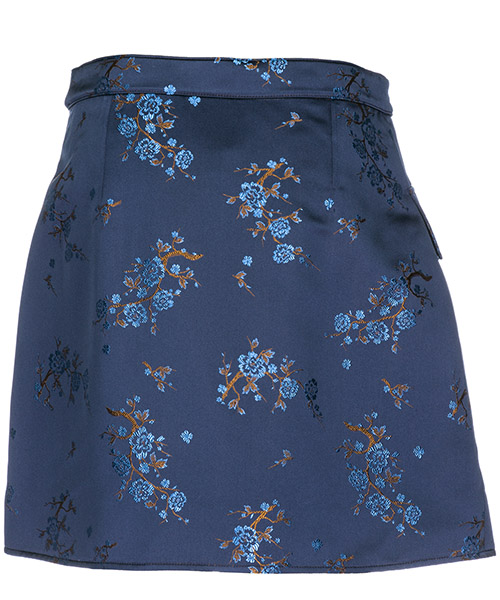 Gonna corta minigonna donna cheongsam flower secondary image