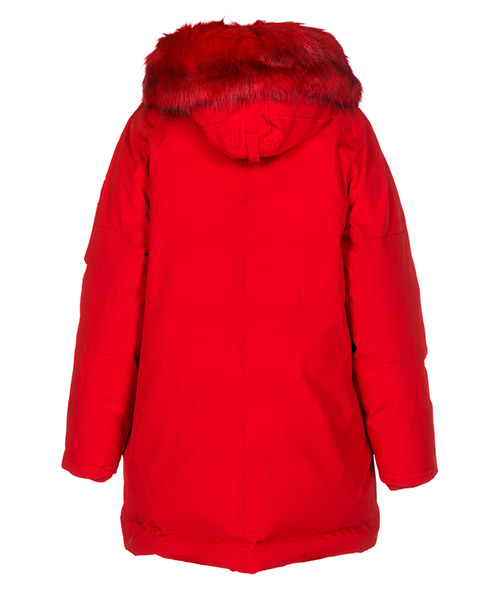 Women's outerwear jacket blouson hood puffa secondary image