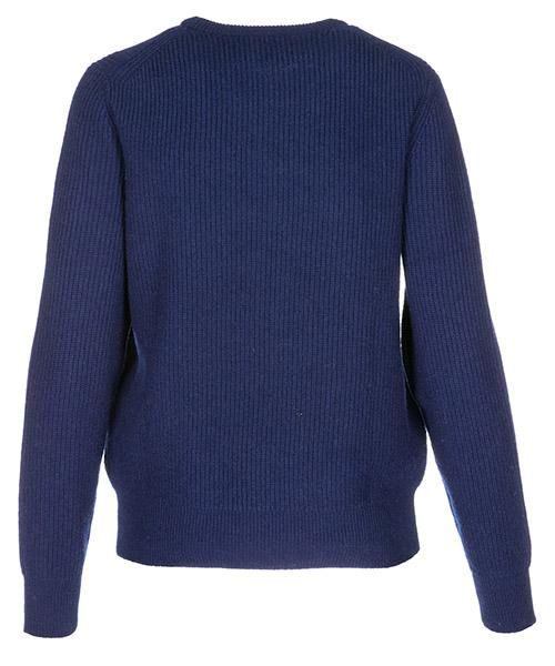 Women's jumper sweater crew neck round secondary image