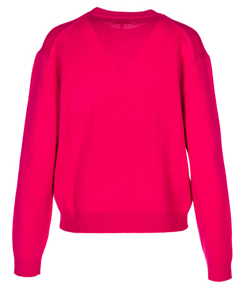Women's jumper sweater crew neck round bamboo tiger secondary image