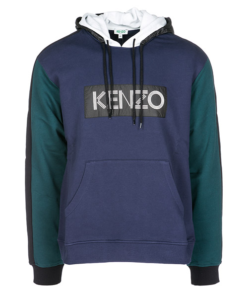 Толстовка с капюшоном Kenzo F865SW4144MD78 blu