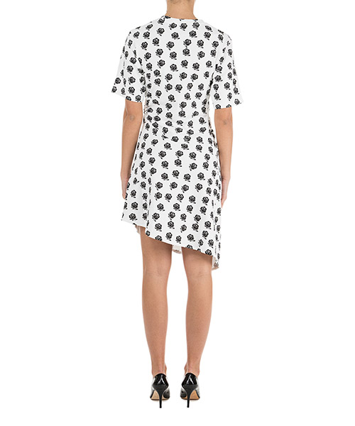 Robe femme mi-mollet manches courtes secondary image