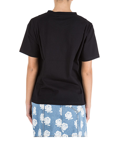 T-shirt ras du cou col rond manches courtes femme roses secondary image