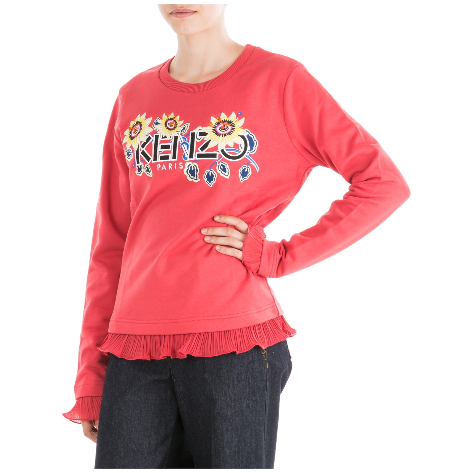 Sweatshirt Kenzo Damen BritishTown Yabancı Dil Kursu