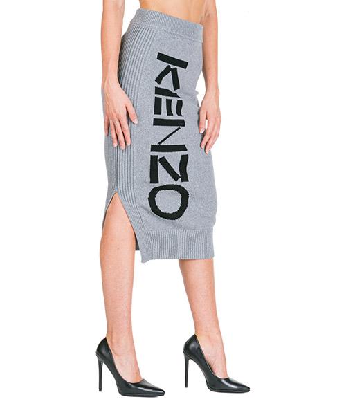Maxi skirt Kenzo f962ju563814.93 grigio