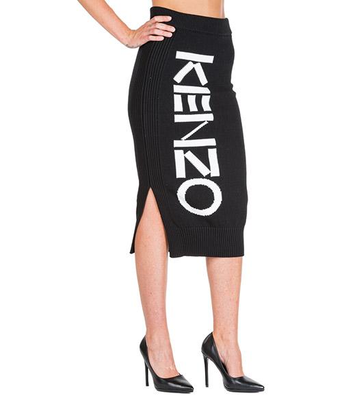 Maxi skirt Kenzo F962JU563814.99 nero