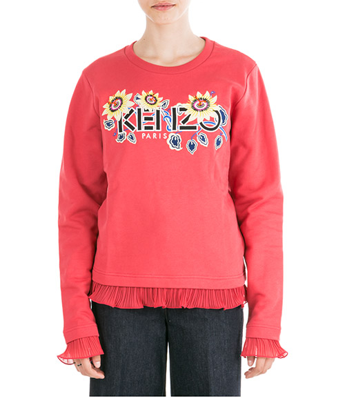 Sudaderas Kenzo Passion Flower F962SW71196227 rosso