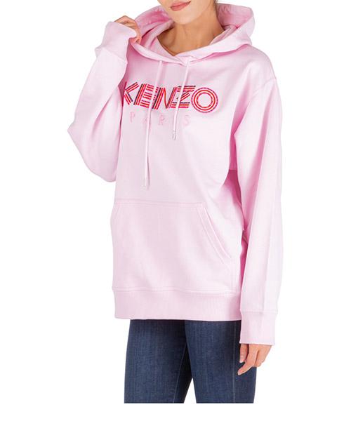 Felpa con cappuccio Kenzo hiking f962sw761962.33.m rosa
