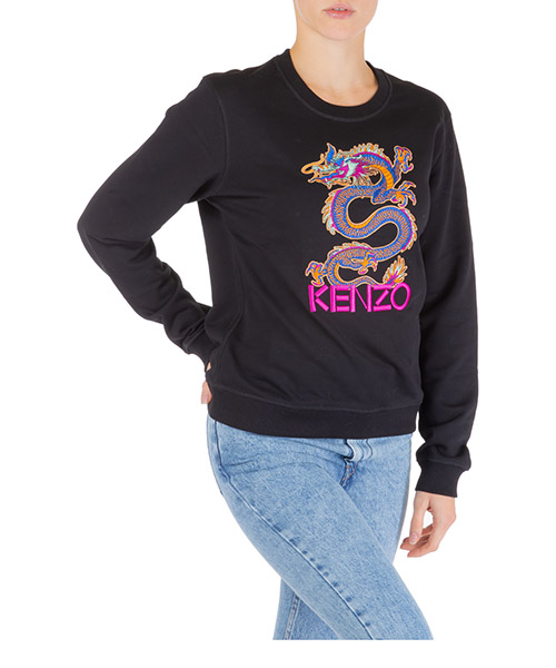 Sweatshirt Kenzo dragon f962sw809962.99.m nero