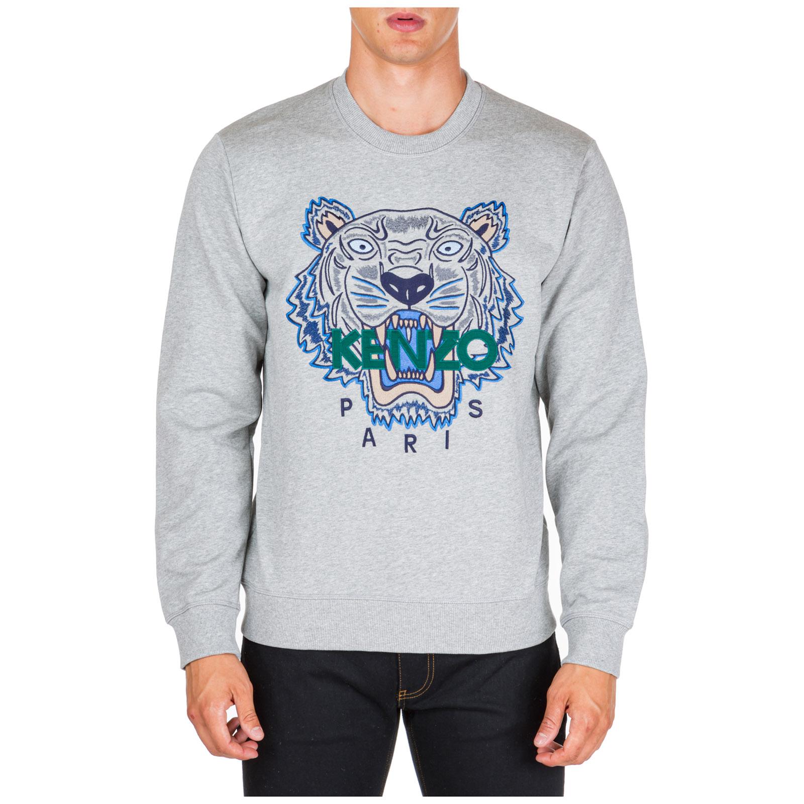 Men's sweatshirt sweat tiger