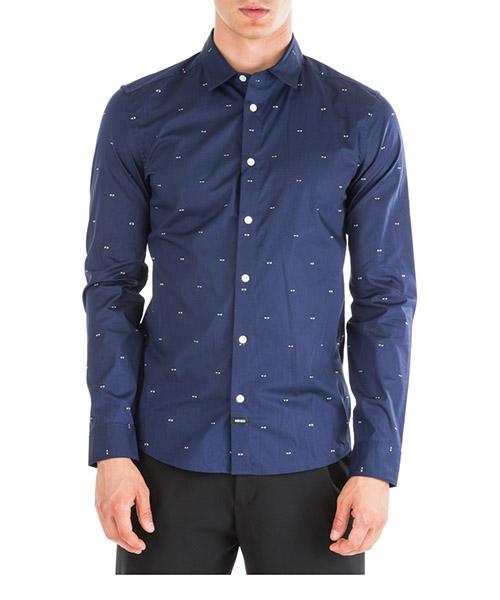 Рубашка Kenzo Multi eye F965CH2001FM77 blu