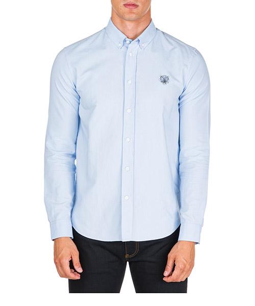 Camicia Kenzo f965ch4001ld.63 azzurro