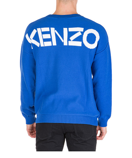 Джемпер Kenzo f965pu2043ba70 blu